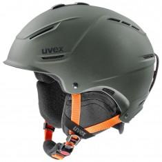 Uvex p1us 2.0 skihjelm, mørkegrøn