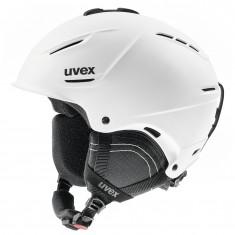 Uvex p1us 2.0 skihjelm, mat hvid